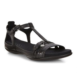 Ecco Flash Womens Black Buckle Sandals